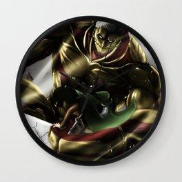 Armored Titan Wall Clock