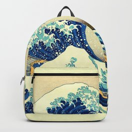 The Great Wave Off Kanagawa Katsushika Hokusai Backpack