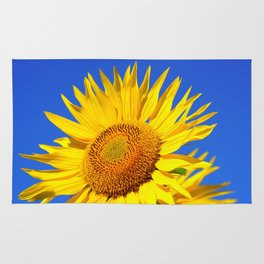 Bold Sunflower Rug