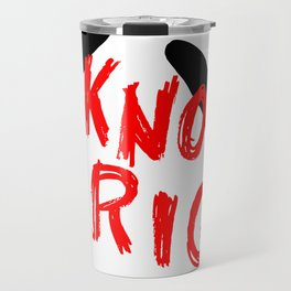 Know your rights Travel Mug