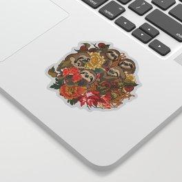Because Sloths Autumn Sticker