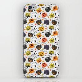 Halloween Candy Buckets iPhone Skin