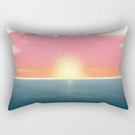 Peaceful Current Rectangular Pillow