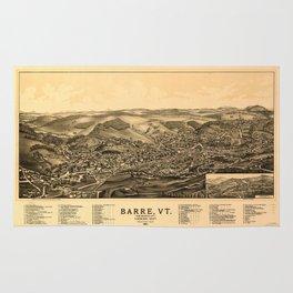 Barre, Vermont 1891 Rug