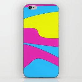 Colors in Sound Neon iPhone Skin