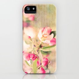 Blossoming Love iPhone Case