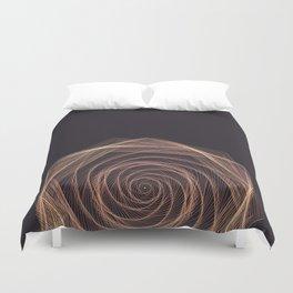 Geometric Rose Duvet Cover