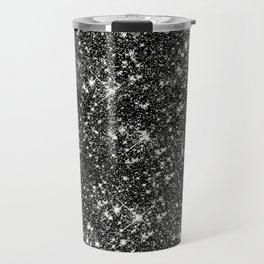 Stars Glitter Stars Travel Mug