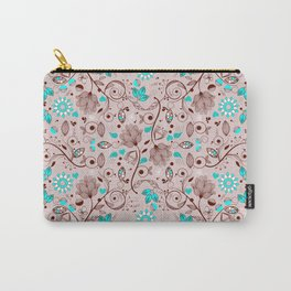 Seamless Paisley Pattern 1 Carry-All Pouch