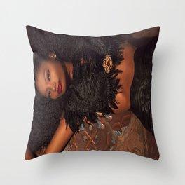 Jessicalsl BeautyQueen Throw Pillow
