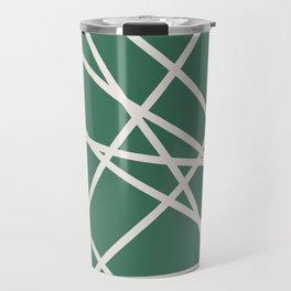 Emerald Lines Travel Mug