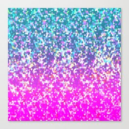 Glitter Graphic G231 Canvas Print