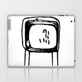 PEOPLE ON TV RECORDS Laptop & iPad Skin