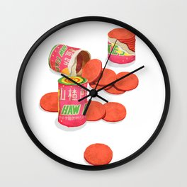 Haw Flakes Wall Clock