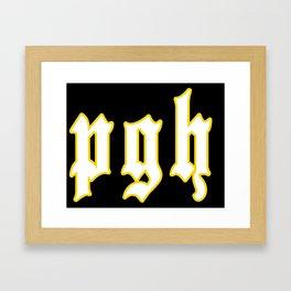 pgh Framed Art Print