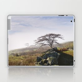 Tree and rising cloud. Cumbria, UK. Laptop & iPad Skin