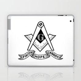 Freemasonry symbol Laptop & iPad Skin