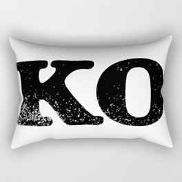 KO Rectangular Pillow