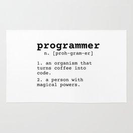 Programmer meaning Rug