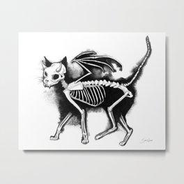 Devil Kitty Metal Print