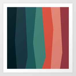 Stripes: Sand Art Print