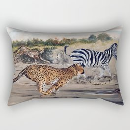 Season of the Big Cat - Cheetah Alley Rectangular Pillow