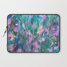 """FAIRY DREAMS"" Original Painting by Cyd Rust Laptop Sleeve"