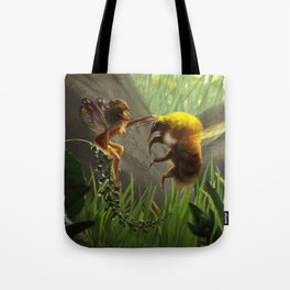 Faerie and Bee Tote Bag