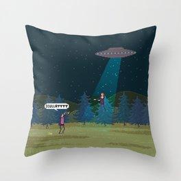 The X-Files Throw Pillow