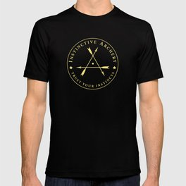 Instinctive Archery - Official Gold Patch Tshirt - July 2017 T-shirt