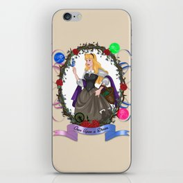 Briar Rose - Once upon a time iPhone Skin