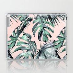 Island Love Coral Pink + Green Laptop & iPad Skin