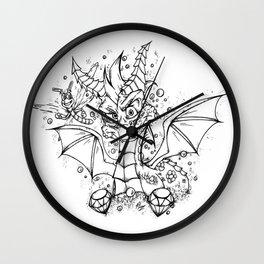 Spyro & Sparx - Ultimate Duo! Wall Clock