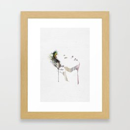 Imprint Framed Art Print