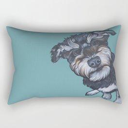 Benji the Schnoodle Rectangular Pillow