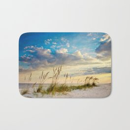 Sea Oats Beach Sunset Bath Mat