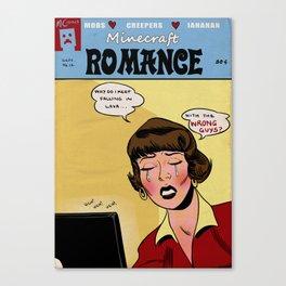 Minecraft Romance Issue #14 Canvas Print