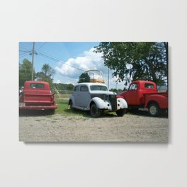 large and old Metal Print