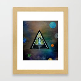The Center Of Everything Framed Art Print