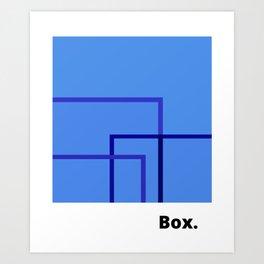 Box. Art Print