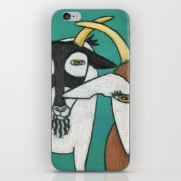 Two Goats iPhone Skin
