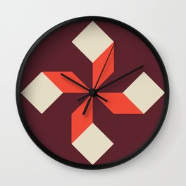 Modern Block #2 Wall Clock