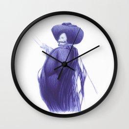 Vitae Sanctorum L Wall Clock