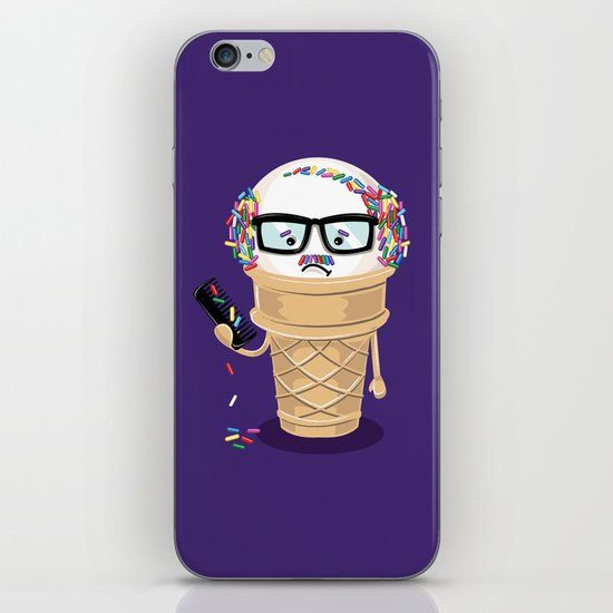 Ice Cream Coneover iPhone & iPod Skin