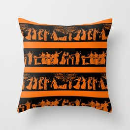 toga party Throw Pillow