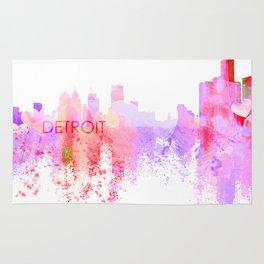 Love Detroit Rug