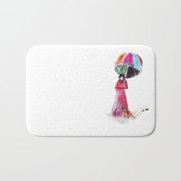 Ame O Ukeireru ( Embracing Rain ) Bath Mat
