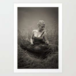 Young Marilyn Monroe Art Print