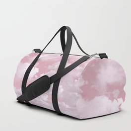 Clouds in a Pink Sky Duffle Bag