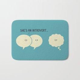 Introvert (Alt Version) Bath Mat